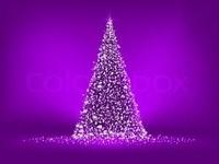 I'm dreaming of a purple Christmas