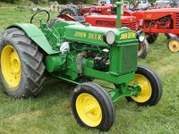 Tractors and items related