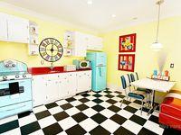 Dream Kitchen: Vintage, Retro, Mid Century