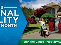 May is National Mobility Month Please vote for Carly as a Local Hero- Vote daily!!! She has a chance to win a handicap wheelchair van www.nationalmobilitymonth.com