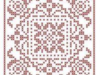 Cross Stitch:  Single Color 2