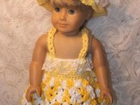 CROCHET DOLL'S AND DOLL CLOTHES