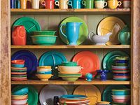 Fiesta plates, dishes, tablescapes.....pure love