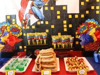 Thomas' Superman Adoption Party