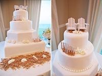 Country beach wedding