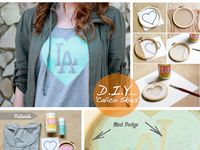 Make your own T-shirt reconstruction with these Do-It-Yourself (DIY) T-shirts Ideas. For more inspiration: http://www.cottonable.com