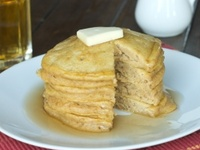 Food: Pumpkin pancakes