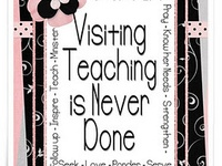 Started out as a YW idea board, grew into adding visiting teaching, continues with other great serving ideas...