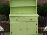 Painted Furniture, china cabinets