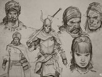 Interesting fantastical and imaginary characters, creatures and more