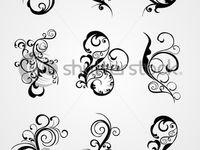 Swirl tattoo idea