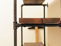 Pipe/Wire Furniture and Shelves