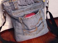 Reciclagem de jeans/denin
