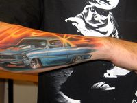 Cream of the crop: Car tattoos