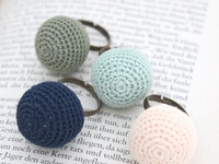 fab and funky crochet rings