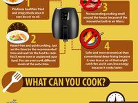 Air fry food