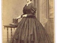 Civil War Images- impressive sleeves, ruffles and flounces