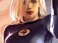 Marvel - Sue Storm: Invisible But Captivating