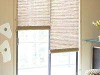Slider Window Treatments