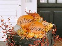 Fall, Halloween, and Thanksgiving