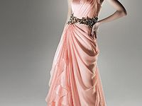 Evening gowns that dreams are made of. . .