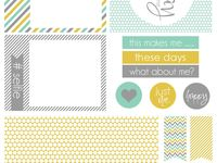 Printables-Project Life