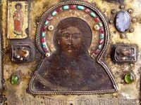 of saints, madonnas, shrines, altars, churches, temples, etc., past & present