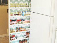 Organization in the kitchen, kitchen storage organization and kitchen counter organization tips.