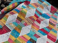 I love quilts. I love making them. I love reading about them. I love looking at them. I love snuggling up under them. So here is all things quilt!