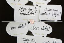 Plaquinhas Casamento / by Ketlyn Oliveira