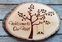Pyrography- Hot Ideas / A board of inspiration for gift ideas, etc. / by Jenifer Whitley-Lemke