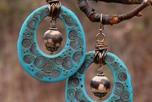 Polymer Clay Earrings / by Irene MacKinnon
