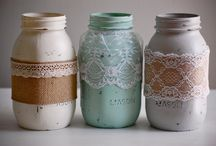 Jars & Cans / Crafty Ideas / by Lourdes Diaz