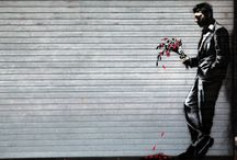 Street art and Banksy / street art  / by Spring Fisk