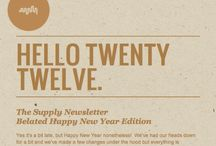 Newsletters/Online Design / examples and inspiration  / by Maria Rogal