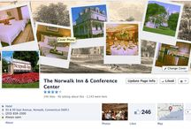 FIND US ON FACEBOOK / by The Norwalk Inn & Conference Center