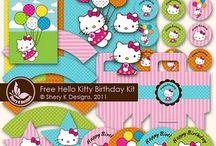 ashlyn birthday / hello kitty with Easter touches another year of hello kitty / by Lilly McGuire
