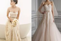Wedding dresses with color / by Suzanne Wells