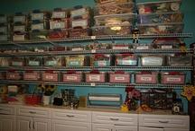 Sewing Rooms, Studios / by Nancy Moore