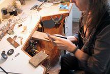 jewellery bench / by Helen Holmes