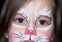 Caritas  pintadas & Maquillaje artístico / Fantasy makeup / by Laura Rojas M.