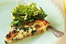 FOOD: Come to Brunch / A selection of quiche and frittata recipes.  / by Angela Thompson