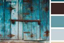 Color Palettes / by Andrea