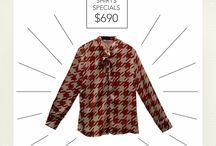 ** SHIRTS SPECIALS ** / ** ESPECIAL DE CAMISAS ** Encontrá todas nuestras camisas por tiempo limitado a un precio único. / by Bellmur