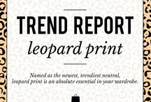 Trend Report: Leopard Print / An absolute essential to any wardrobe. Shop everything leopard at www.ShopTheShoppingBag.com / by The Shopping Bag