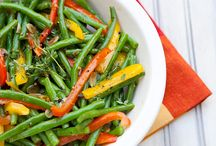 Healthy, Sides and Veggies / by Tammy Bolt Werthem