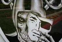 Raiders & Blazers & timbers / by Bill Amyx