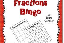 Math 6 Fractions / by Julie Anne Hopp