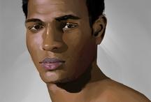 Model Inspired Art / by Black Male Models