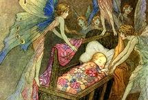 vintage faerie postcards / by Helen Karetnikova